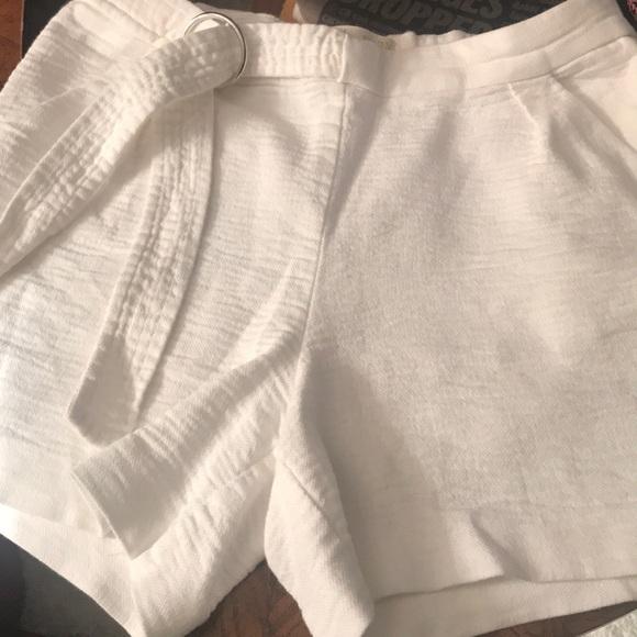 Zara young girls summer shorts.